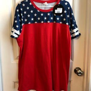 boutique Tops - Patriotic tunic
